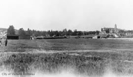 Lansdowne Airfield at Lansdowne and Richmond Roads (now the side of Lansdowne School)