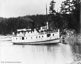 "Ferry ""Iroquois"" which operated between Sidney and the Gulf Islands"