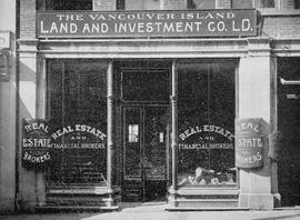 Vancouver Island Land and Investment Co. Ltd., Government Street