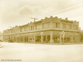 Begg Motor Company Ltd. S.W. corner of Yates Street and Quadra Street