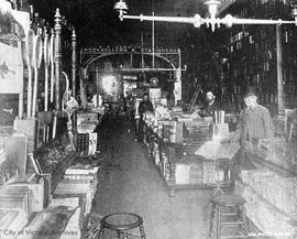 T.N. Hibben & Co. bookstore, interior