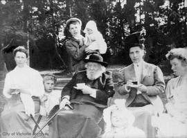 Bishop Edward Cridge and family