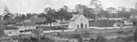 """Victoria's first cathedral.  Became St. Ann's chapel, 1886"""