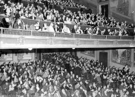 Packed house at the Royal Theatre performance of Kiwanis Kapers, March 2, 1939