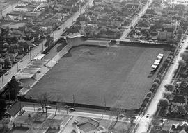 Aerial view of Royal Athletic Park