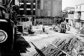 Construction of the City Centre Plaza