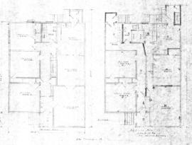 Proposed plan for duplex for Mr. & Mrs. I. Finlay