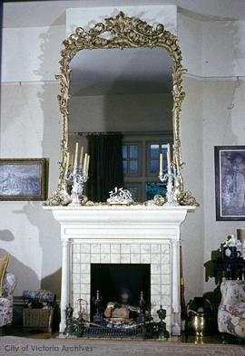 "George H. Barnard family home at 1462 Rockland Avenue known as ""Duvals"", living room"