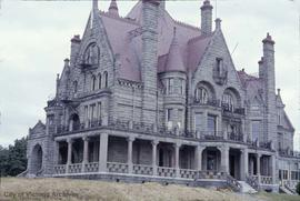 "Robert Dunsmuir family home at Joan Crescent known as ""Craigdarroch Castle"""