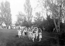 Garden fete at Mrs. Crofts (Mt. Adelaide)