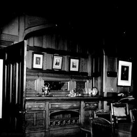 "James Angus family home at 1321 Rockland Avenue known as ""Ellesmere"", dining room"