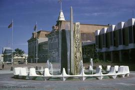 Centennial Square fountain