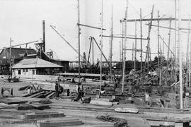 Point Ellice Yard of the Foundation Shipyard Co. Ltd. Part 3 of a 6 part panorama