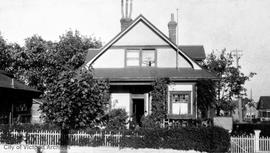 46 Dallas Avenue, now Paddon Avenue, residence of Capt. Cyril D. Neroutsos