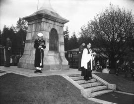 Armistice Day ceremony at Esquimalt
