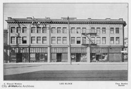 Lee Block, 1618-1628 Government Street
