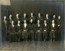 Graduating class of Victoria College including Ira Dilworth