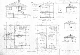 [One-storey house with basement]