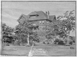"""Ballinahinch"", 1035 Belmont Street. Hon. Justice Archer P. Martin residence"