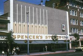 Spencer's Store and Douglas Hotel after renovations