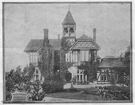 """Mt. Adelaide"", 819 Dunsmuir Street. Henry and Mary Croft residence"