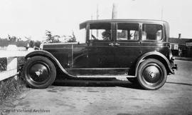 Fanny Walls (Mrs. John Patmore Walls) with her 1926 Nash automobile