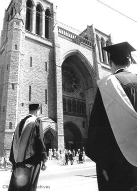 Victoria College graduation ceremonies held at Christ Church Cathedral