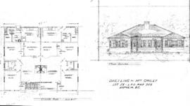 Dwelling for Mrs. Smiley, Lot 58, L.R.O. map 758, Victoria, B.C.