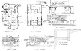 Alterations & additions to residence, 1601 Belmont Avenue, Victoria, for Major B.H. Tyrwhit-Drake [sic]