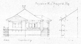 Bungalow for J. Maynard Esq.