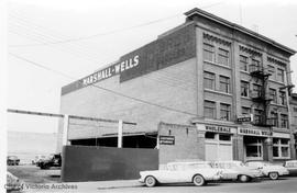 532 Herald Street. Marshall Wells Wholesale