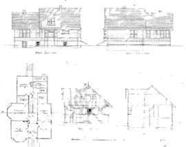 [Two-storey house with basement]