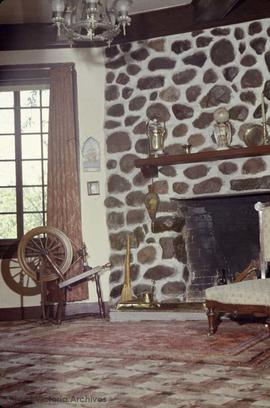 John Tod family home on 2564 Heron Street, sitting room