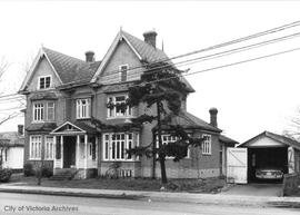 614 Esquimalt Road prior to fire and subsequent demolition