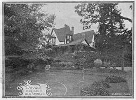 """Duvals"", 1462 Rockland Avenue. George H. Barnard residence"