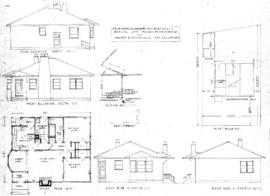 5 room proposed dwelling to be built on Lot 2, Map 4073, 1308 Purcell Place, Victoria, B.C., for Walter B. Revercomb, 1237 Hillside Ave