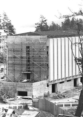 University of Victoria construction