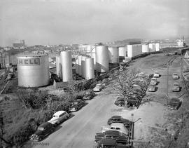 Shell Tank farm on Songhees Industrial Reserve