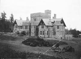 """Hatley Park"", James and Laura Dunsmuir residence, S.W. view"