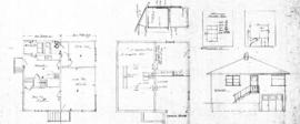 [Addition to one-storey house with basement]
