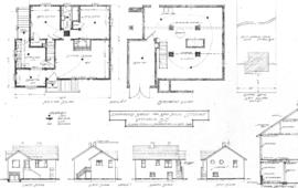 Proposed house for A. Middleton, Victoria, B.C.