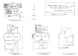 Proposed houses on Foul Bay Rd. & Trent St for H.A. Bell Esq.