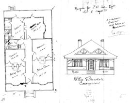 Bungalow for F.H. Forbes Esq., Lot 5, Boyd St