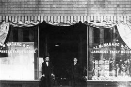 J.M. Nagano & Co. Japanese Fancy Goods, 1501 Government Street