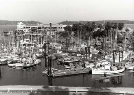 Nanaimo Fisherman's Wharf before landfill