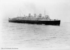"Canadian National Steamship Co. ship ""Prince David"""