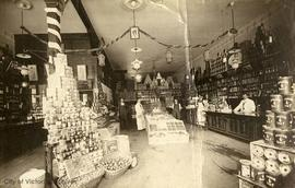 Interior of Saunders Grocery Store