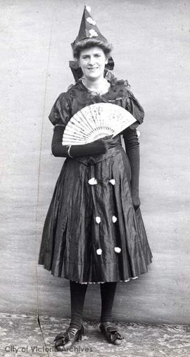 Dorothy Lawrie in costume?