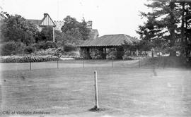 Tennis court, Government House, 1401 Rockland Avenue
