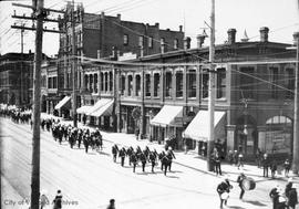 5th Regiment marching along Government Street